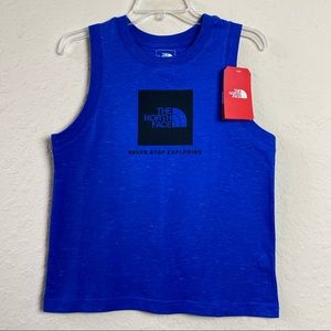 The North Face Size M Womens Blue Tank Top